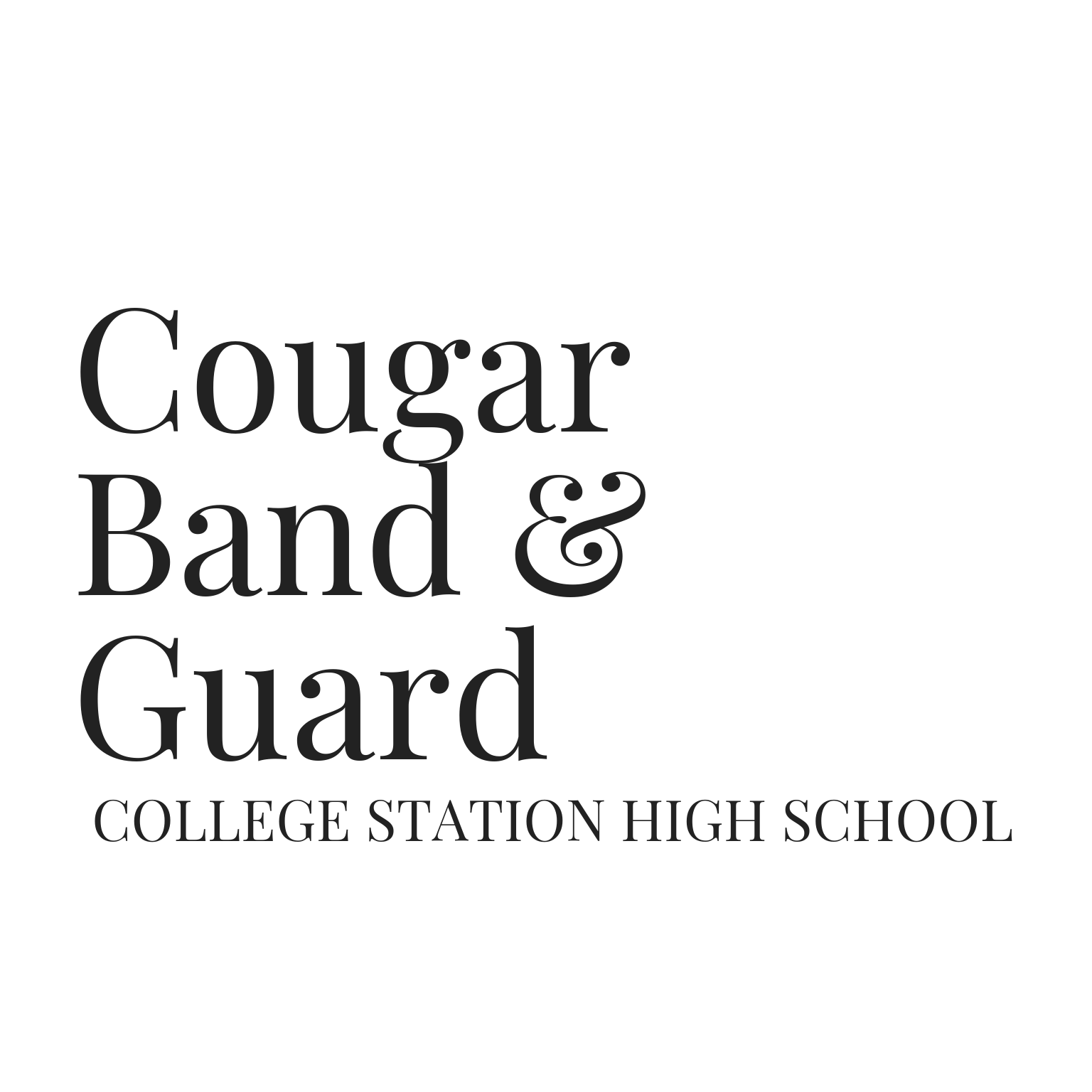 College Station High School Cougar Band & Guard